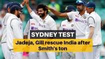 AUS vs IND 3rd Test: Jadeja, Gill shine as India dominate day 2 despite Smith century