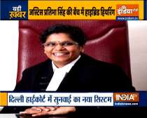 Delhi High Court starts hybrid system of hearing on trial basis in one court