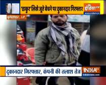 UP shopkeeper detained for selling shoes with