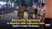 Security tightens in Mumbai after explosion near Delhi