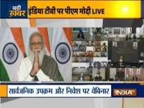PM Narendra Modi addresses a webinar on divestment today