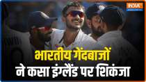 India vs England, 3rd Test: Spinners hurt England as visitors go 4 down at Tea