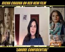 Actors Richa Chadha and Kunal Kohli on their film Lahore Confidential