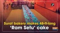 Surat bakery makes 48-ft-long