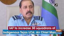 IAF to increase 30 squadrons of Indigenous Tejas LCA: Air Chief Marshal