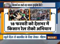 Farmers to hold 'rail roko' protest on Feb 18 from 12 pm to 4 pm across India