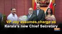 VP Joy assumes charge as Kerala