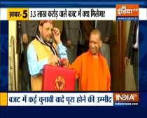 Top 9 News: Yogi govt to present first paperless Budget today
