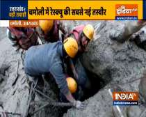 Man screams in joy after being rescued by ITBP from tunnel in Tapovan post glacier burst