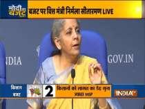 Budget provides impetus to the economy: Finance Minister Nirmala Sitharaman