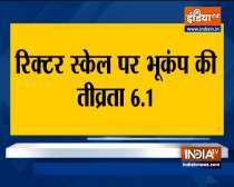 Earthquake Tremors Felt In Parts Of Delhi-NCR and parts of North India