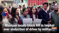 Manipur locals block NH in Imphal over abduction of driver by militants