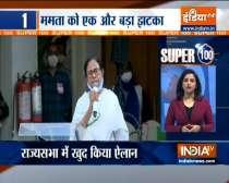 Super 100 : Another blow to Mamata Banerjee, as TMC MP Dinesh Trivedi resigns from Rajya Sabha