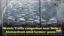 Watch: Traffic congestion near Delhi