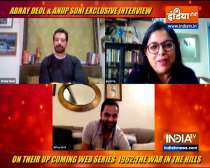 Abhay Deol and Anup Soni speak about web series