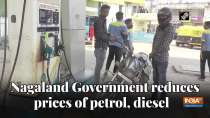 Nagaland Government reduces prices of petrol, diesel