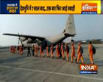 Uttarakhand tragedy: 2 IAF C-130 aircrafts positioned NDRF teams at Dehradun