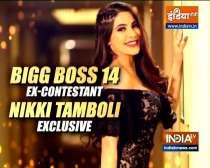 Watch Nikki Tamboli speak about her Bigg Boss 14 journey