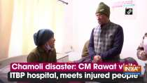 Chamoli disaster: CM Rawat visits ITBP hospital, meets injured people