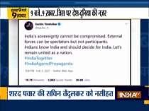 Top 9 News | NCP chief Sharad Pawar advises Sachin Tendulkar on