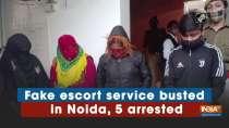 Fake escort service busted in Noida, 5 arrested