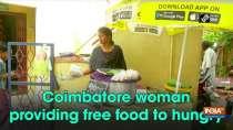 Coimbatore woman providing free food to hungry