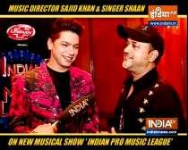 Sajid Khan and Singer Shaan on musical show