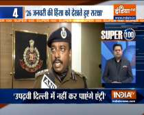 Security beefed up on Delhi borders ahead of Chakka Jam | Watch Super 100 for more news