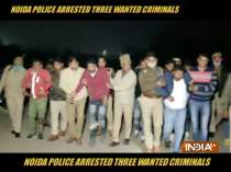 Noida Police arrests three wanted criminals charged of murder over land dispute