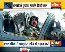 Watch: IAF chief flies Mirage 2000 to mark 2nd anniversary of Balakot airstrike