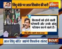 Sanjay Raut to meet protesting farmers at Ghazipur Border