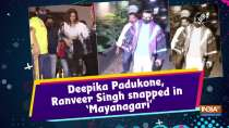 Deepika Padukone, Ranveer Singh snapped in