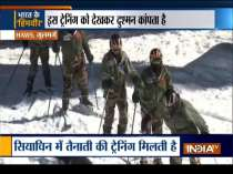 Indian Army trains soldiers in Gulmarg for high altitude operations