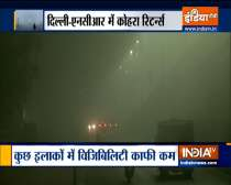Dense fog covers Delhi-NCR, causes low visibility in many parts of national capital