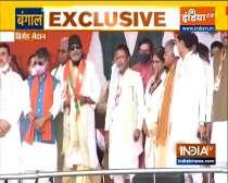 West Bengal Polls 2021: Mithun Chakraborty joins BJP ahead of PM Modi
