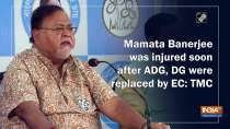 Mamata Banerjee was injured soon after ADG, DG were replaced by EC: TMC