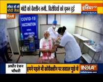 PM Modi gets Bharat Biotech
