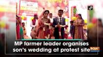 MP farmer leader organises son