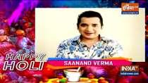 Holi 2021: Saxena Ji aka Saanand Verma shares his first time experience with
