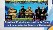 President Kovind attends All India State Judicial Academies Directors