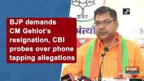 BJP demands CM Gehlot