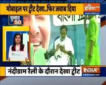 Chunav 50| Mamata Banerjee hits back at BJP in Nandigram rally