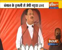 We should give a befitting reply to TMC in polls: BJP chief JP Nadda Hooghly rally