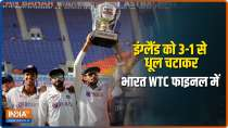 IND vs ENG: India rout England in 4th Test, qualify for WTC Final