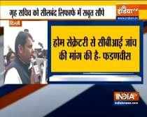Devendra Fadnavis meets Union Home Secretary over Maharashtra police transfer posting racket