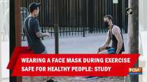 Wearing a face mask during exercise safe for healthy people: Study