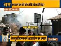 After Howrah and Murshidabad, bomb hurled near BJP MP