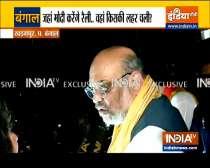 Bengal Polls 2021: Amit Shah holds roadshow in Kharagpur