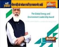PM Modi receives CERAWeek Global Energy and Environment Leadership Award