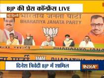 Dinesh Trivedi joins BJP in the presence of the party